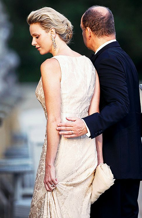 Princess Charlene and Prince Albert