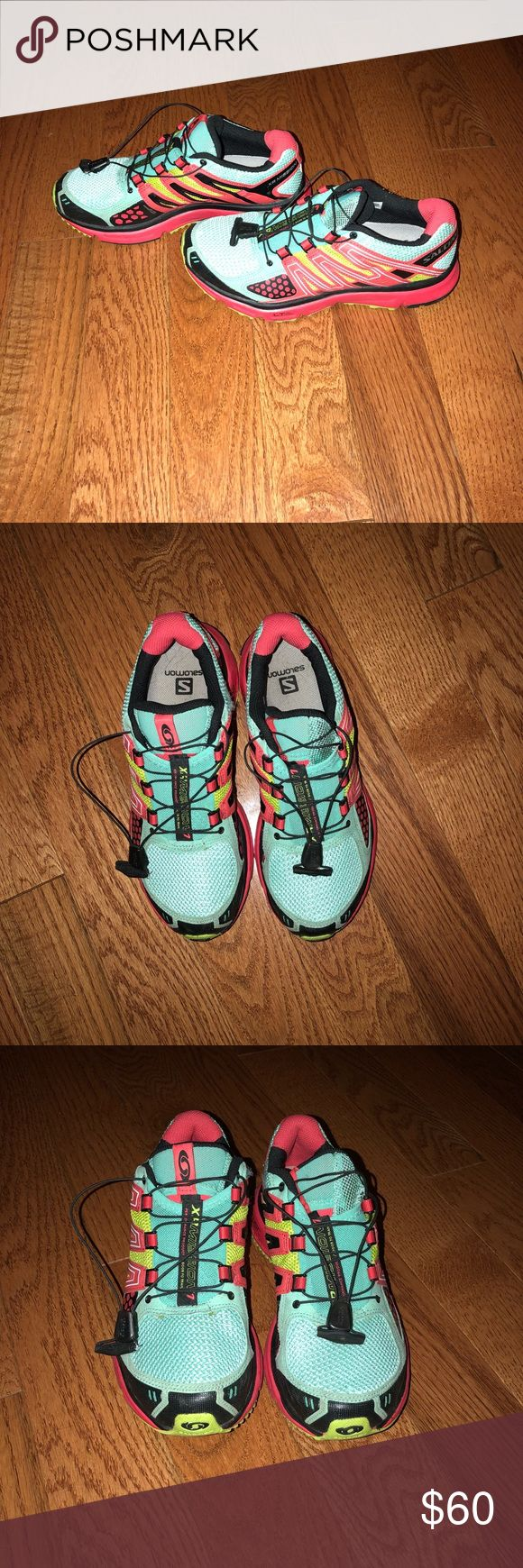Salomon Women's XR Mission 3 Worn maybe 5 times. Practically in perfect condition! Great for hiking, walking trails, or running! Salomon Shoes Athletic Shoes #walkingshoes