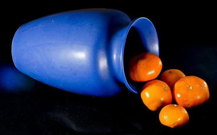 Blue Orangeconstrasting Colours 7228x4509