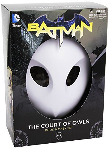 Batman: The Court of Owls Mask and Book Set (The New 52) (Batman: the New 52) by Scott Snyder http://www.amazon.co.uk/dp/1401242855/ref=cm_sw_r_pi_dp_WCSbxb14539V1
