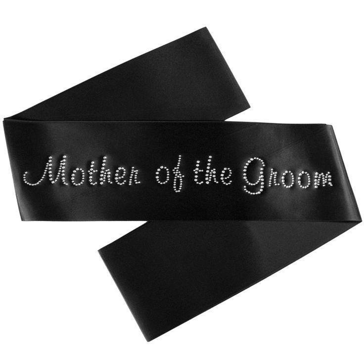 Mother of the Groom Sash - Diamante