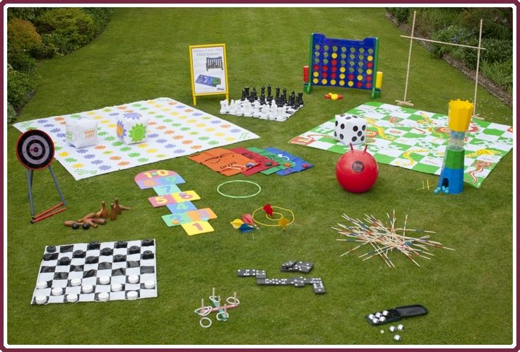 Lets see if it is cheaper to DIY or buys these online...  garden games range