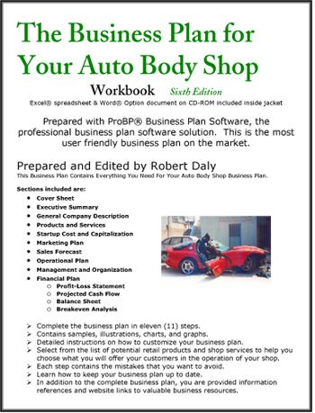 Auto body repair business plan