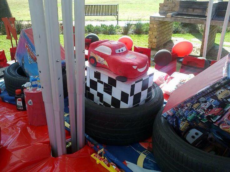 Cars themed birthday