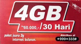 60 ribu Jagoan 3G,Cara Daftar Paket Internet,simpati,