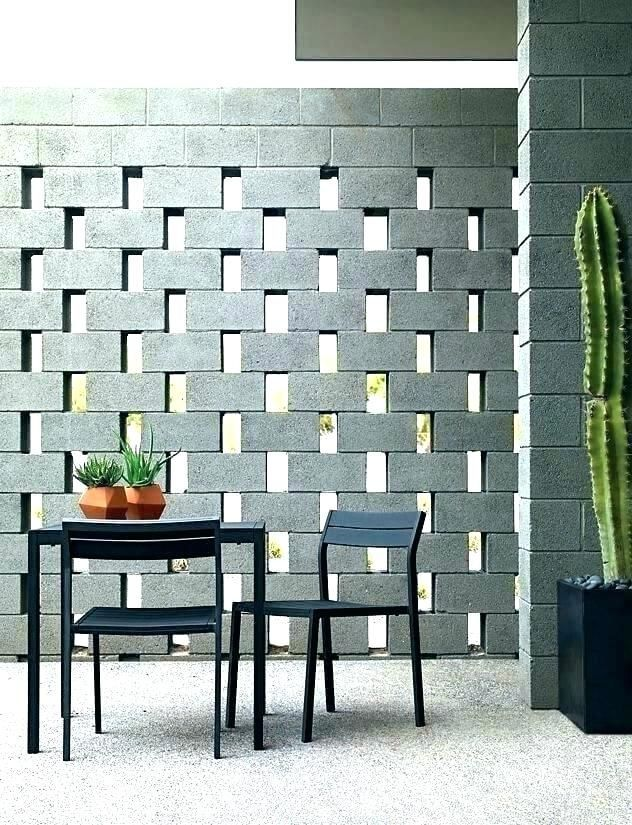 Cinder Block Wall Ideas Insulating Cinder Block Walls Cement Block Walls Cinder Cinder Block Walls Cinder Block Apartment Patio Furniture
