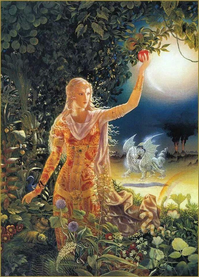 Prinses met witte draak