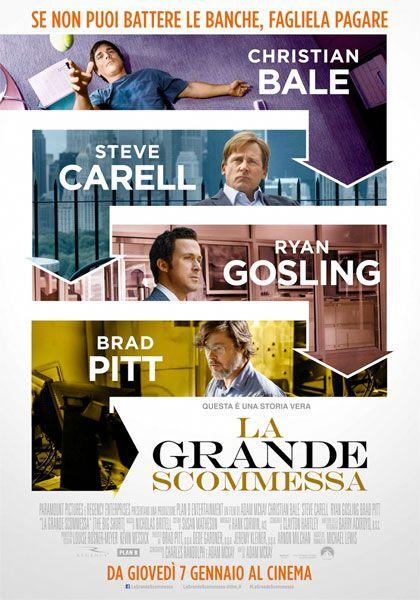 GRATIS$~HDQ]® La grande scommessa Streaming film completo SUB ITA 720p Gratis   GUARDA ORA: Link diretto streaming FILM online ITA ===>>>> http://bit.ly/1Zg1bqW GUARDA ORA: Link Download ===>>>> http://bit.ly/1Zg1bqW  Sinossi e dettagli: n film di Adam McKay. Con Brad Pitt, Christian Bale, Ryan Gosling, Steve Carell, Marisa Tomei. continua» Titolo originale The Big Short. Drammatico, Ratings: Kids+13, durata 130 min. - USA 2015. - Universal Pictures uscita giovedì 7 gennaio 2016.