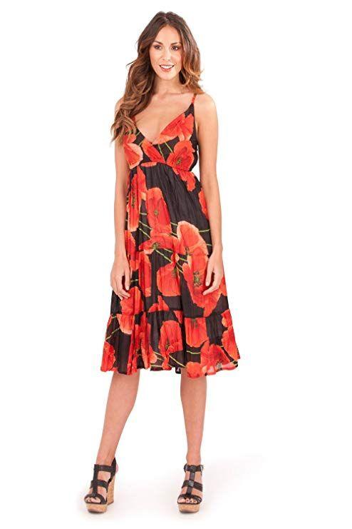 08e6a375056 Pistachio Ladies Vibrant Knee Length Summer Holiday Cotton Dress ...