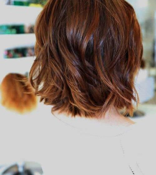15 Short Layered Haircuts For Wavy Hair Latest Bob