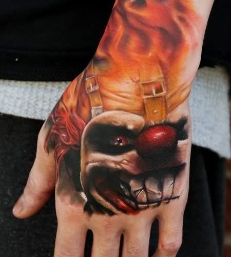 25+ Best Ideas About Clown Tattoo On Pinterest