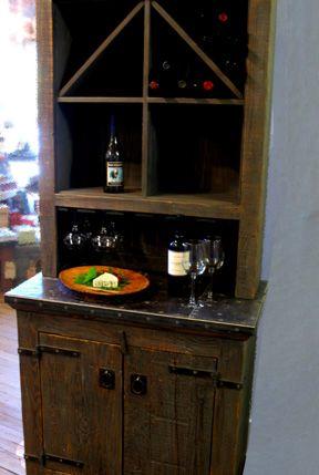 wine storage/ dry bar