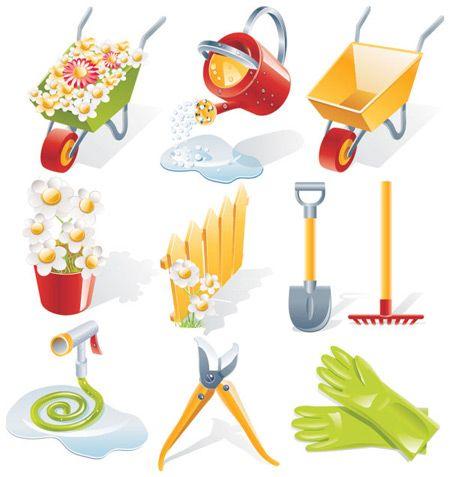 gardening-vector-tools