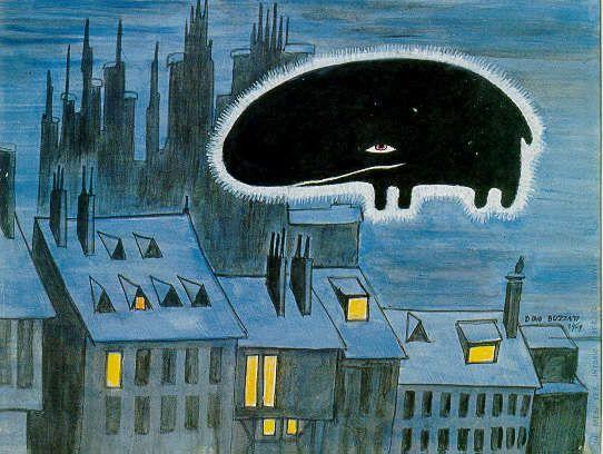"""Dino Buzzati, """"Il Babau"""", 1970"""