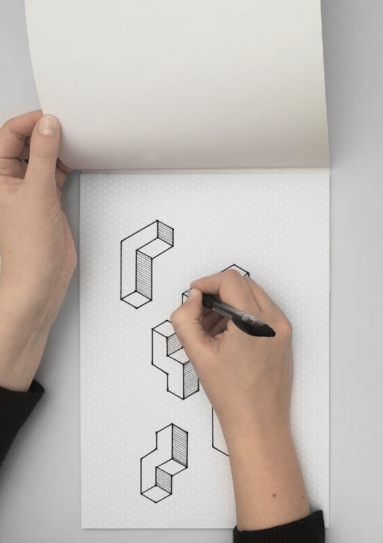 Isometric Graph paper A4 - WL96