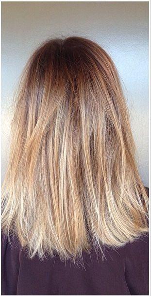 The Bronde: light brunette hair color ideas