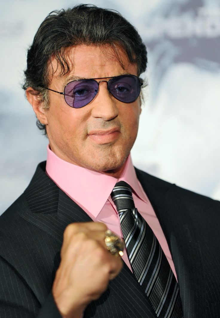 Sylvester Stallone. Still the man.