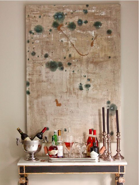 a perfect gray: abstract art and an antique