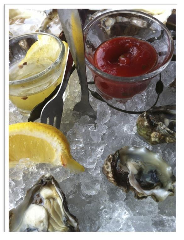Rehoboth Beach, Henlopen Oyster House: Kumamoto oysters