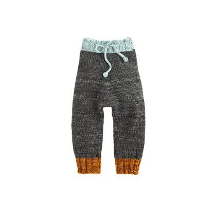 Launched by a New England mom in 2011, Misha and Puff was founded on two principles: keeping babies warm and cozy and helping families support themselves. Each piece is lovingly handmade by a knitting community in Peru, either at their homes or at Misha and Puff's knitting center, which provides day care and meals. Made from soft (never itchy) hand-dyed merino wool, these cozy leggings sit higher on the waist to keep little tummies warm. The best part? They're machine washable. ...