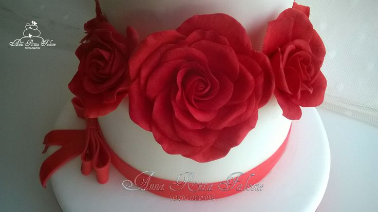 Sugar red rose