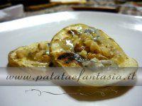 Bruschetta di patata...facili, veloci ed un'ottima variante alle solite bruschette di pane