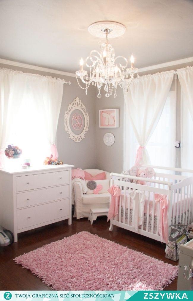 Zobacz zdjęcie Wnętrze sypialni dla dziecka - zobacz jak zaprojektować, zaaranżować 'nursery' czyli pokoik dla niemowlaka w amerykańskim wydaniu - zobacz i zainspiruj się! Ciekawe aranżacje pokoju dla dziecka u Pani Dyrektor! w pełnej rozdzielczości