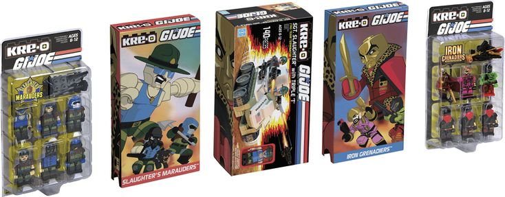 #SDCC2015 Exclusive #Hasbro #GIJoe #KreO Sgt. Slaughter's Marauders Box Set (New Details) http://www.toyhypeusa.com/2015/06/25/sdcc-2015-exclusive-hasbro-g-i-joe-kre-o-sgt-slaughters-marauders-box-set-new-details/ #SDCC15 #SDCC