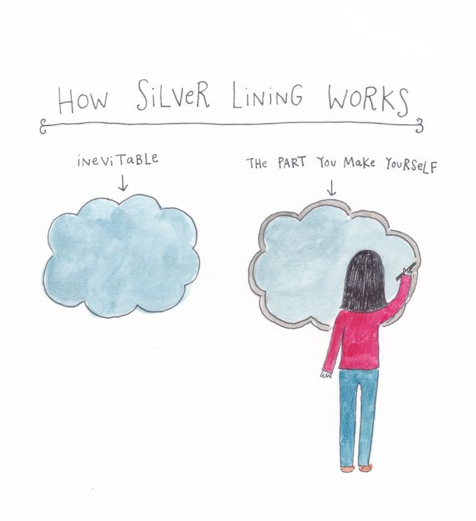 Every cloud has a silver lining - Idioms by The Free