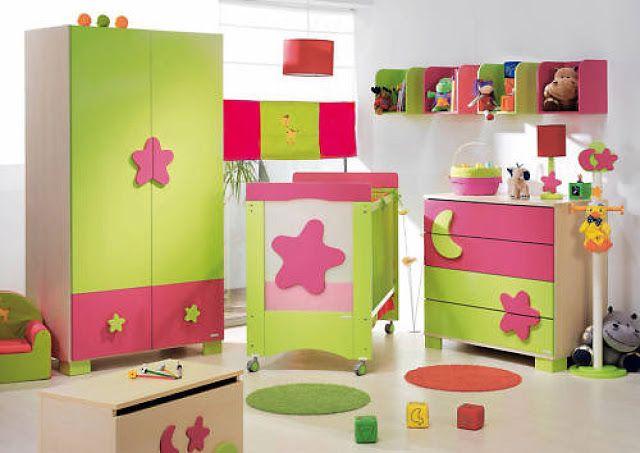 17 mejores ideas sobre habitaciones de color verde lim n for Cuartos de ninas fucsia