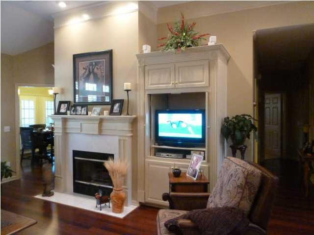 Built In For Tv Beside Fireplace Great Rooms