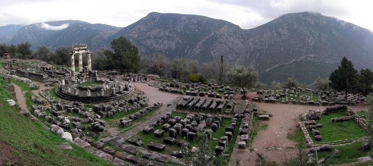 """Το όνομα της Delphi βέβαια ειναι εμπνευσμένο απ' τον """"ομφαλό της γης""""."""