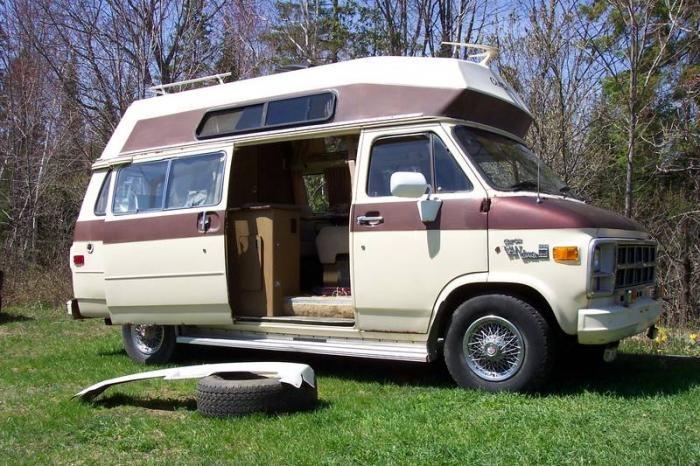 GMC Camper Van Camper van, Vans