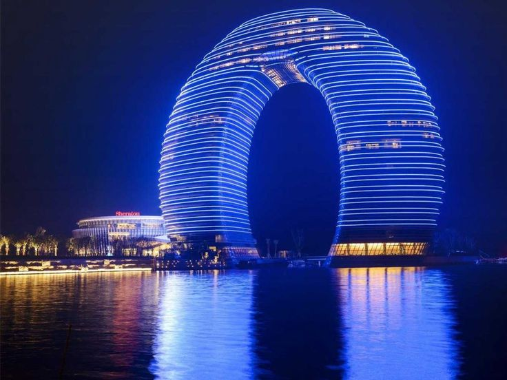 The Best Hotel Openings of 2013Huzhou Hot, Sheraton Hotels, Real Life, Earth Signs, Spring Resorts, Architecture, Sheraton Huzhou, Hot Spring, China