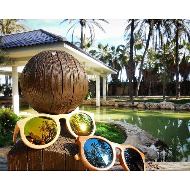 Santorini Bamboo Sunglasses