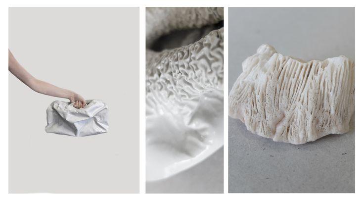 DAAN | leather > bag > coral