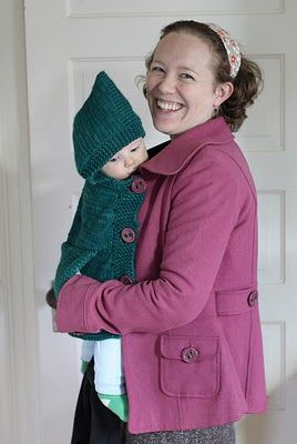 Babywearing poncho. Need!