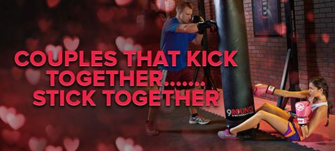 This Valentine's Day, remember that the couples that kick together stick together!!!!! Get your significant other to start working out at 9Round with you!!! You'll both be glad you did!   9Round in Northville, MI is a 30 minute full body workout with no class times and a trainer with you every step of the way! Visit www.9round.com/fitness/Northville-Michigan or call (734) 420-4909 if you want to learn more!