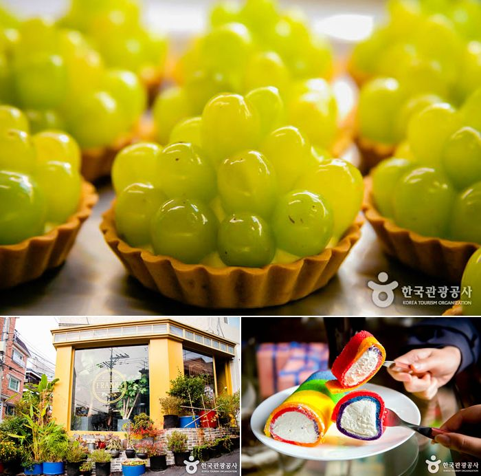 The top 5 best dessert places found in Itaewon. | Official Korea Tourism Organization