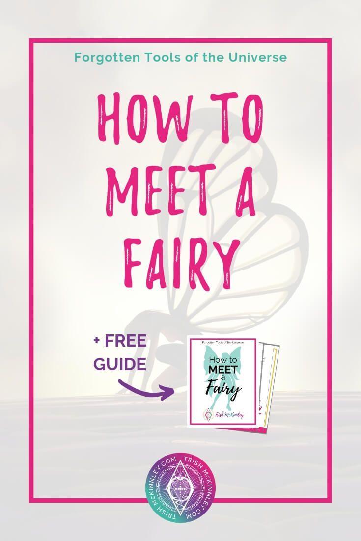 How to See a Fairy   TrishMckinnley com   Indoor fairy