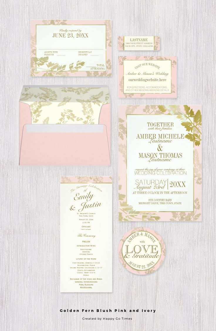 Best 41 Wedding Invitations ideas on Pinterest | Bridal invitations ...
