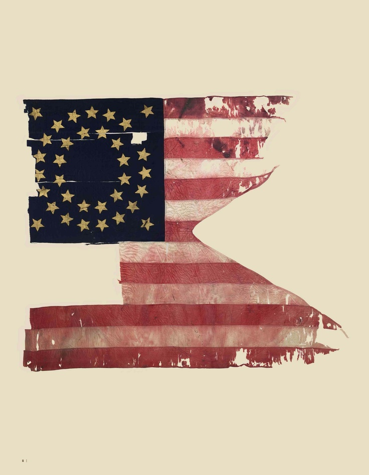 Gen. Custer's Battle Flag from Little Big Horn