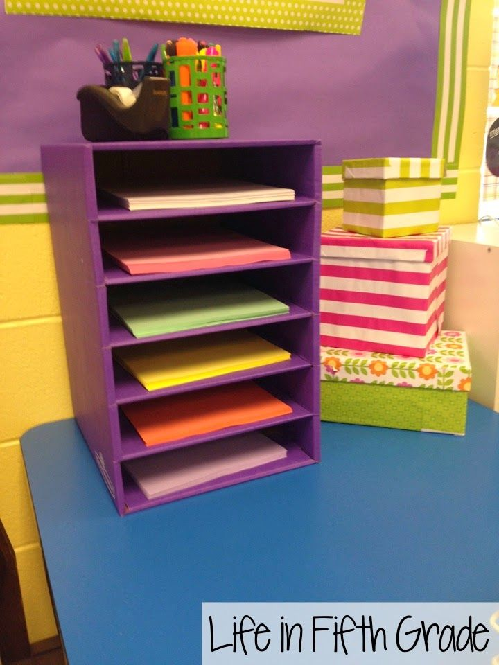 Classroom Design Paper : Target paper organizer new back to school