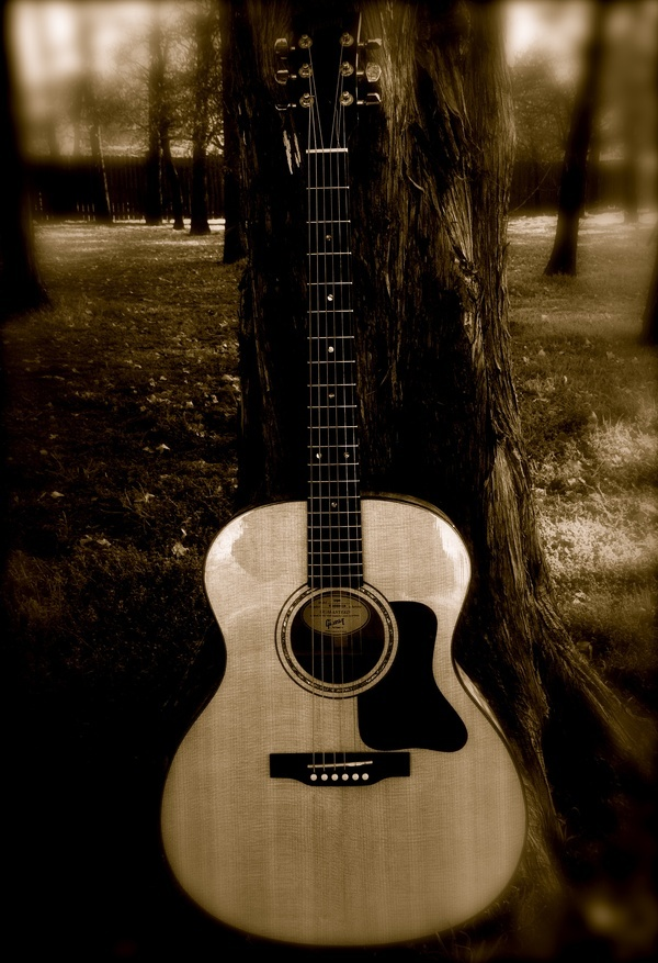 Gibson Acoustic #Guitar Outdoors Nerdyguitar