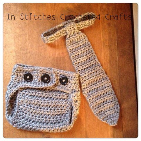 The Little Worker Set Crochet Photography by InStitchesCrocheted, $25.00