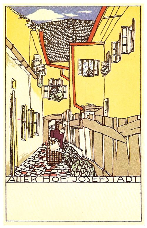 Book plate from the Wiener Werkstatte group