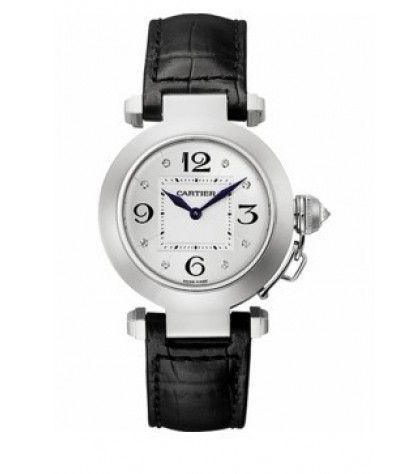 Buy Cartier Pasha de Cartier 18kt White Gold Ladies Watch WJ11902G Online