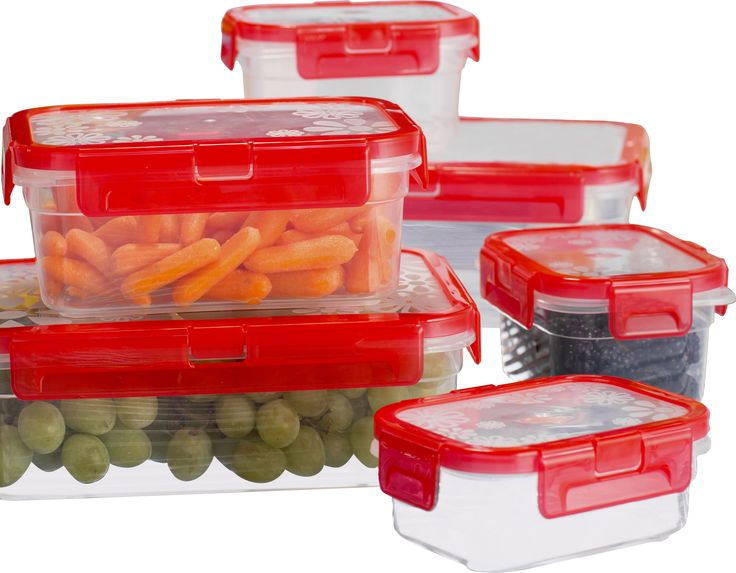 Wayfair Basics 12-Piece Plastic Food Container Set