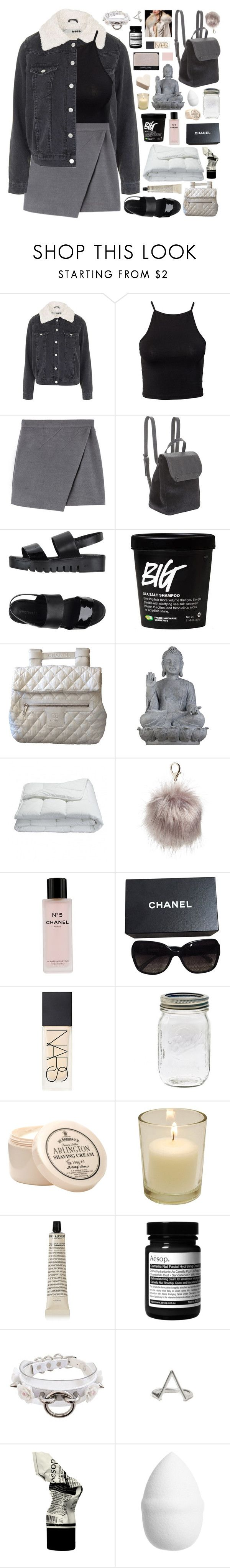 """""""11:11AM — """"WAS IT EVEN REAL TO YOU"""""""" by dance-the-pain-away ❤ liked on Polyvore featuring Topshop, NLY Trend, BCBGeneration, Jeffrey Campbell, NARS Cosmetics, Chanel, Universal Lighting and Decor, Frette, Nila Anthony and D.R. Harris & Co Ltd."""