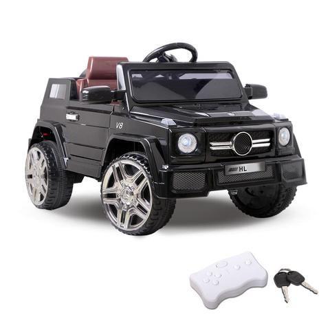 Kids Ride On Car - Black - LetsElude